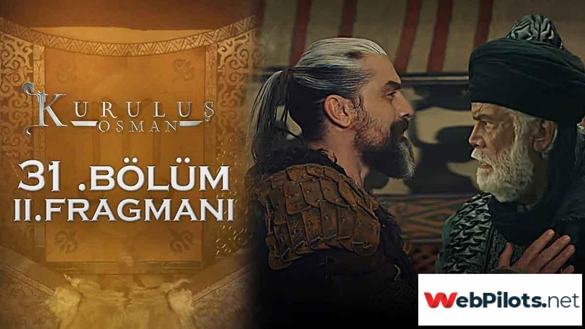 Kurulus Osman Bolum 31 Season 2 Episode 4 Urdu Subtitles