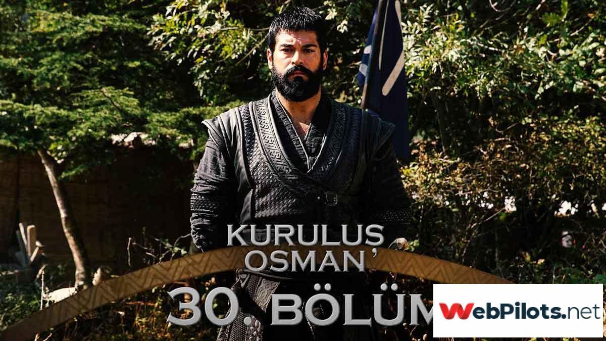 Kurulus Osman Episode Bolum 30 Season 2
