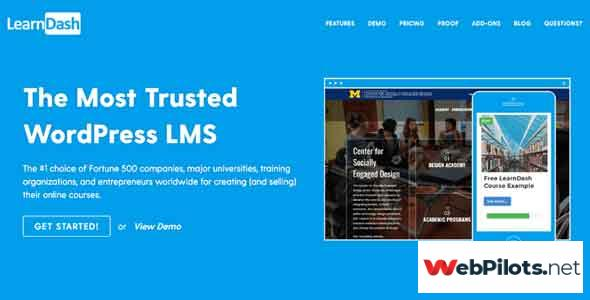 LearnDash WordPress LMS Plugin by LearnDash v3.2.3.5