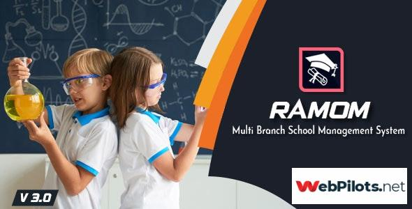 Ramom School Multi Branch School Management System 3.5