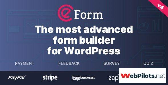 eform v wordpress form builder nulled febbcc