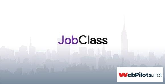 jobclass v nulled job board web application fefc